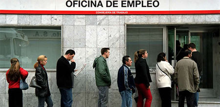 Una cuarta parte de los jóvenes parados de la UE es española