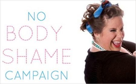 'No body shame campaign', sin vergüenza por sufrir sobrepeso