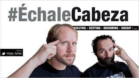 #ÉchaleCabeza, campaña contra el mal uso de las redes sociales