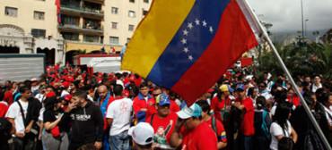 Manifestación estudiantil en Caracas