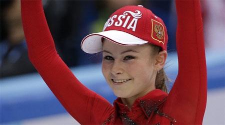 Yulia Lipnitskaya, la campeona olímpica más joven de la historia