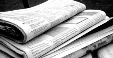 Un periódico hace llegar sus noticias a través de las toallas de papel de los WC