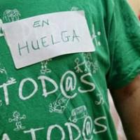 Primera huelga estudiantil de 2014 contra la LOMCE