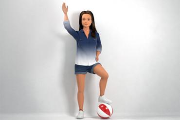 Lammily, una Barbie con proporciones realistas
