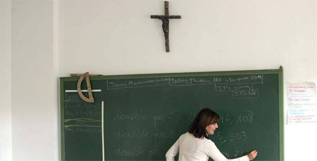 Desciende el número de alumnos de Religión