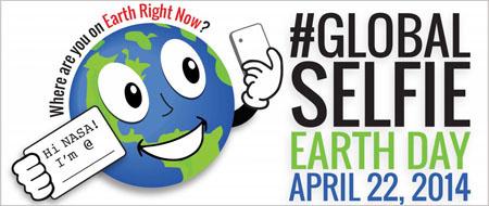 Celebra el Día de la Tierra con un selfie mundial