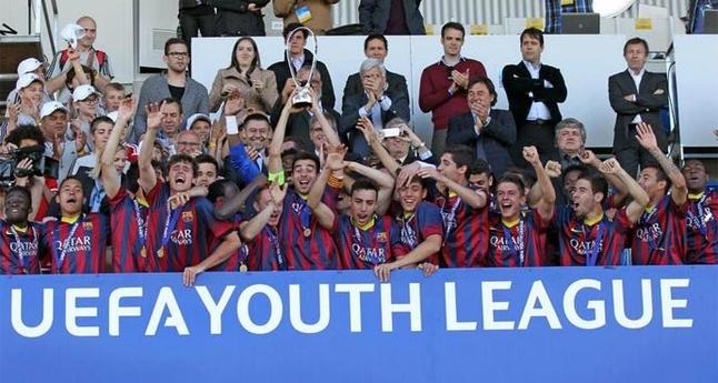El Barça se lleva la UEFA Youth League