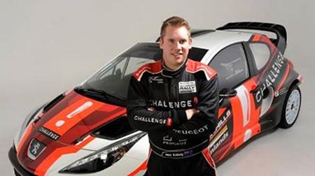 Joven de 21 años construye un coche de rally