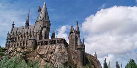 Una universidad china recrea el castillo de Harry Potter para su campus