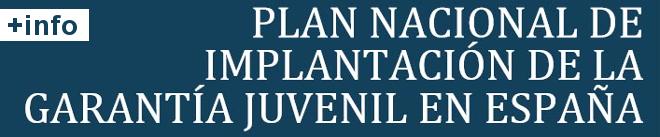 Plan Nacional de implantación de la Garantía Juvenil