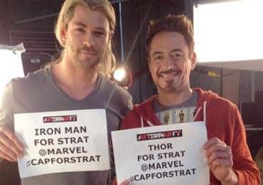'Los Vengadores' cumplen el deseo de un enfermo de cáncer