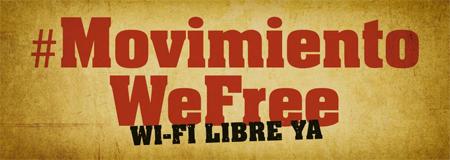 WeFree, por una Internet de libre acceso en las calles españolas