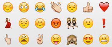 ¿Cuáles son los emoticonos más utilizados?