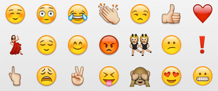 250 emoticonos nuevos para tu WhatsApp