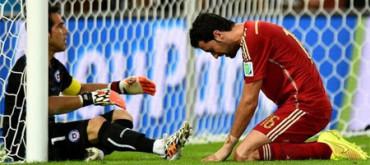España cae eliminada en el Mundial de Brasil