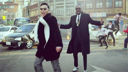 PSY arrasa en YouTube con su nuevo single