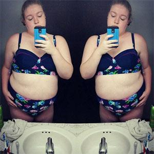 Una joven acusa a Instagram de bloquear su cuenta por estar obesa