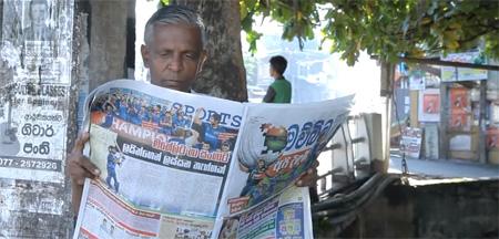 Un periódico combate el dengue con una tinta especial