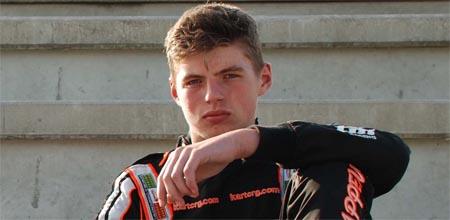 Max Verstappen se estrena en la F1 con 17 años recién cumplidos