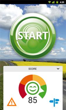 DriveSmart, una app que te dirá si eres buen conductor