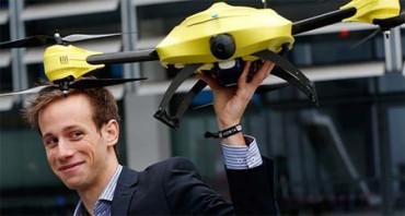 Estudiante de ingeniería diseña un 'dron ambulancia'