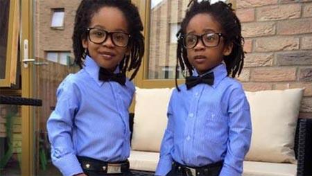 """""""M"""" y """"D"""", gemelos de 5 años, nuevas estrellas de la moda infantil gracias a Instagram"""