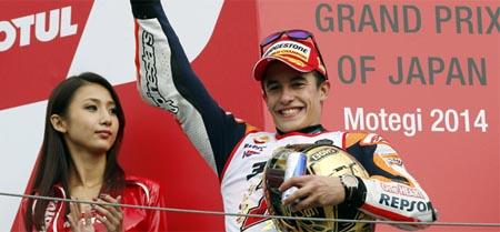 Márquez consigue su segundo Mundial en MotoGP