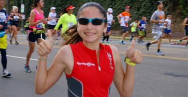 Corre 7 maratones en 5 continentes con sólo 12 años