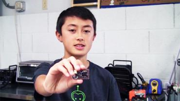 Chico de 14 años consigue en 29 horas la financiación para crear un nuevo dispositivo de carga