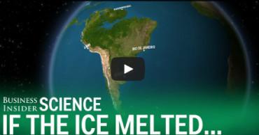 Éstas son las consecuencias si todo el hielo de los Polos se fundiese