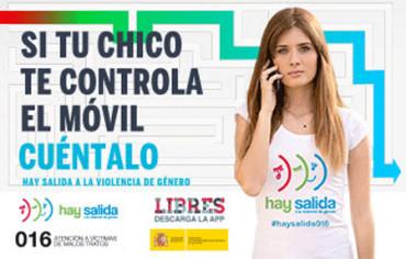 """""""Hay salida"""", campaña contra la violencia de género"""