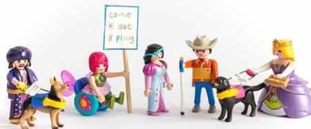 Playmobil fabricará muñecos discapacitados