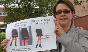 Prohibidas las minifaldas en una escuela inglesa para no distraer a los profesores