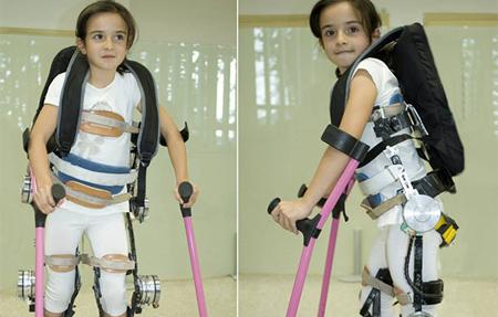 Campaña crowdfunding para financiar un exoesqueleto que permita caminar a niños parapléjicos
