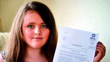Esta niña de 12 años es la menor más inteligente del mundo
