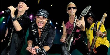 Scorpions ofrecerán un concierto en vivo en Yahoo!