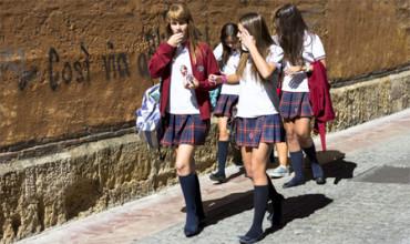 El uniforme de un colegio español es el más estiloso del mundo