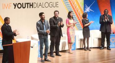 Jóvenes emprendedores piden al FMI más espacios para promover empleo digno