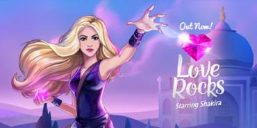 Shakira entra en el mundo de los videojuegos con 'Love Rocks'