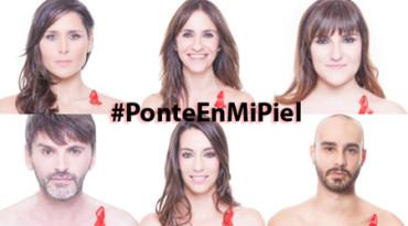 #PonteEnMiPiel, por la visibilidad de las personas con VIH