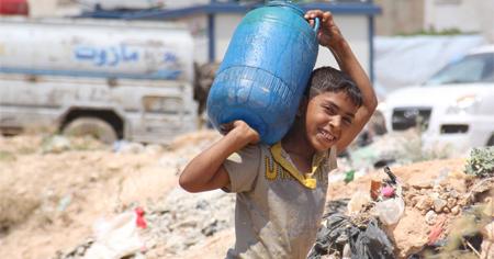8,4 millones de niños afectados por el conflicto sirio