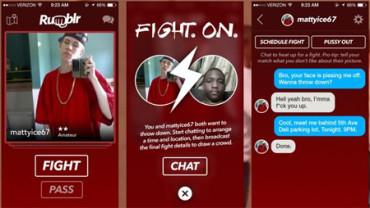 Polémica app que pone en contacto a desconocidos que quieran pelearse