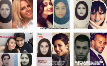 Los jóvenes iraníes muestran su verdadera identidad en Instagram