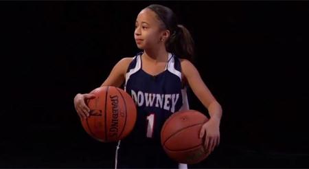 Tiene 10 años y ha logrado anotar 57 puntos en un partido de baloncesto