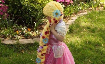 Crea pelucas inspiradas en las princesas de Disney para niñas con cáncer
