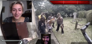 Actores transforman Chatroulette en un videojuego interactivo de horror