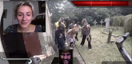 Actores transforman Chatroulette en un videojuego interactivo de horror
