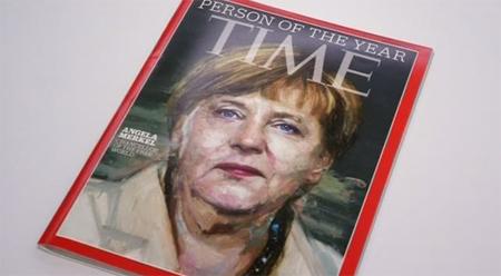 """Angela Merkel, """"Persona del año"""" de la revista Time"""