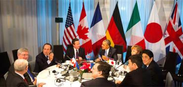 Estudiantes sustituyen a líderes mundiales en el ensayo general del G7