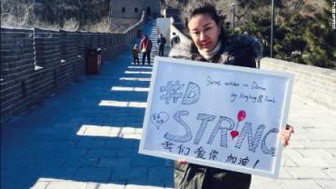 China se vuelca con un niño enfermo que quiere ser famoso